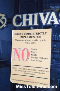 I appreciate the fact that they have a dress code.