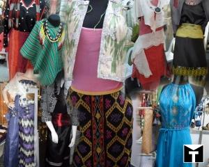 Filipino made fabric and design.
