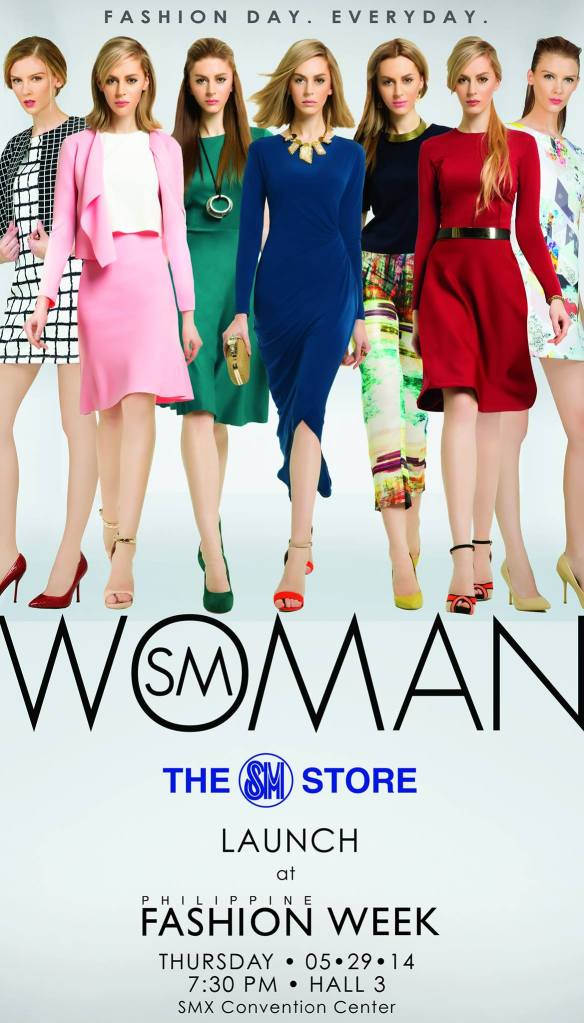 Philippine Fashion Week launches SM Woman at the SMX Convention Center