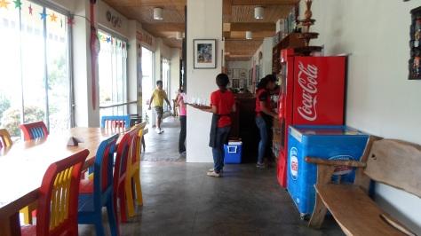 CafeSabel inside BenCab Museum