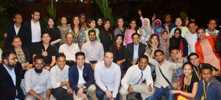 """""""The WIEF Young Fellows 2014 is indeed exciting. It allows our young leaders to learn about the city of Manila – its business and social landscape. It provides our diverse group the opportunity to interact with global cultures and build strong personal networks. It is imperative that we create such platforms for our young leaders because, aside from equipping them with the skills to create profitable business, we also want to see them benefitting humanity,"""" added Bai Rohaniza M. Sumndad-Usman, Chairperson of the Young Moro Professional Network."""