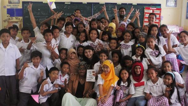 WIEF visits Maharlika School