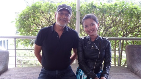 With The Philippine National Artist, Benedicto Cabrera (BenCab)