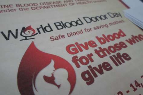 World Blood Donor Day (WBDD) Poster