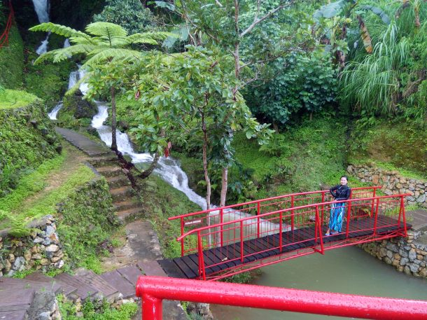 Water Falls near CafeSabel.