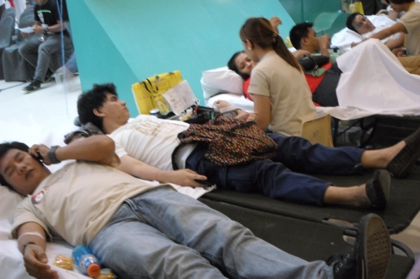 World Blood Donor Day's ongoing blood donation