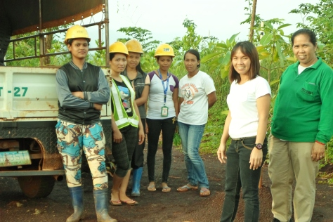 According to sources, women are becoming better miners of RTNMC. They are educated and bring more to the family income compared to their male counterparts. Featured in this picture are women of the Palawan tribe, also products of its educational system.
