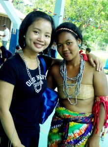 During my trip to check out one of the mine sites in Palawan. Met with one of the tribes people.