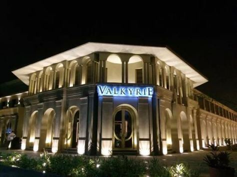 A facade of the newest night club to rise in BGC: Valkyrie Image © Philippine Daily Inquirer