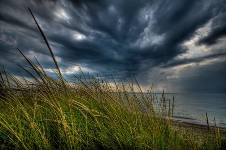 I have long embraced my violent rain clouds