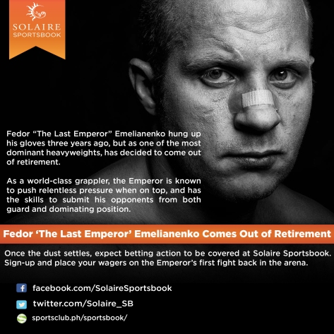 Fedor 'The Last Emperor' Emelianenko Comes Out of Retirement