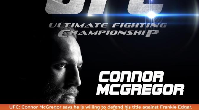 """UFC 189: McGregor """"Walks the Walk"""""""