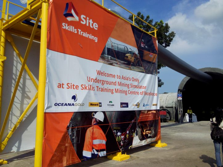 Asia's First Underground Mine Site Simulation opens in the Philippines.