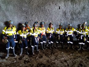 OceanaGold Open Asia's First Underground Mine Site Simulation in the Philippines