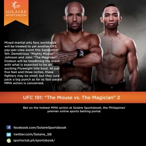 UFC 191: The Mouse vs. The Magician [PARTII]