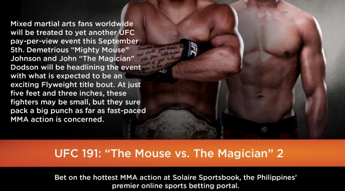 UFC 191: The Mouse vs. The Magician [PART II]