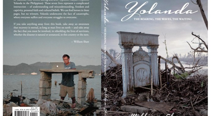 "American aid volunteer writes new book on ""Yolanda"""