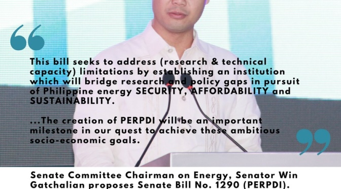 PH Senator pushes for Energy R&D