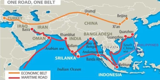 From Black Sand Mining to the Great Silk Road