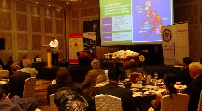 WATCH: DENR Sec. Gen. Roy Cimatu addresses foreign business leaders
