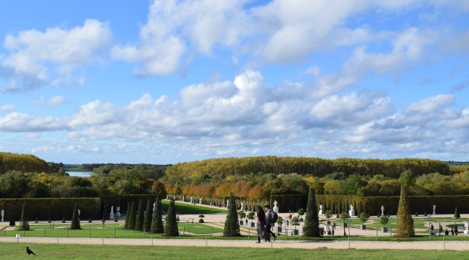 The breath taking Garden grounds of Château de Versailles