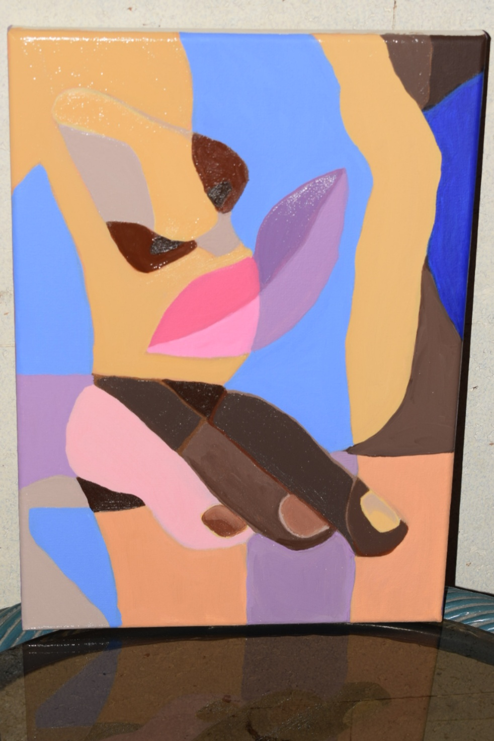 Ines 10x14 Oil Painting